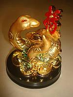 Змея золотая с иероглифом