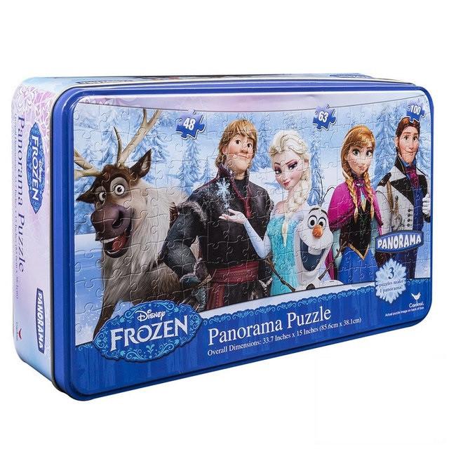 Пазл Панорама 3 в 1 «Ледяное сердце» (в жестяной коробке) SM98334/6033220 Spin Master
