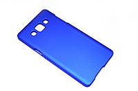 Пластиковый чехол для Samsung Galaxy A5 A500 синий, фото 1