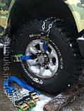Браслеты противоскольжения БУЦ под трещотку джип,микроавтобус,грузовик, фото 2