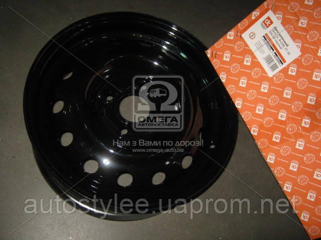 Диск колесный 14х5,5J 4x100 Et 43 DIA 60 DACIA LOGAN (в упак.) черный , 216.3101015-04