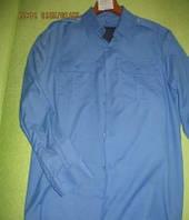 Рубашка МВД форменная длинный рукав пояс резинка мужская