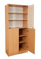 Шкаф комбинированный со стеклянными дверями С-027 (80462)