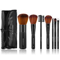 Подарочный набор кистей для макияжа Studio Quality Cosmetic Brush Set with Large Kabuki, 7 pc