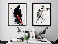 Постер картина Звездные Войны Star Wars - Дарт Вейдер