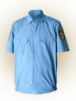 Рубашка МВД форменная короткий рукав пояс резинка мужская