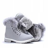 Польские ботинки на зиму из качественного материала
