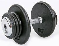 Гантель профессиональная стальная RECORD 20 кг