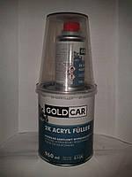 Грунт акриловый Gold Car 5+1 белый 0,8л+0,16л отвердитель