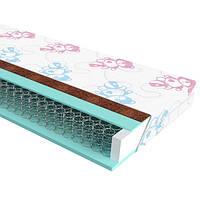 Ортопедичний дитячий матрац з пружинним блоком Боннель Baby Soft Herbalis Kids ЕММ, фото 1