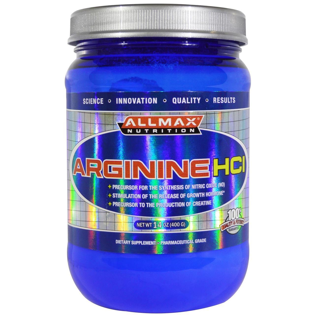 Аминокислоты ARGININE HCI 400 г Без вкусовых добавок