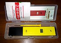 Цифровой pH метр pH-009 в пенале, тестер кислотности, фото 1