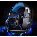 Ігрові навушники Kotion Each G2000 з мікрофоном та підсвіткою Blue, фото 9