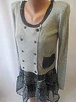 Женские  пиджак с шифоновым сарафаном., фото 1