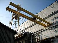 Кран полукозловой г/п от 0,5 до 16,0 т., высота подъёма до 20,0м, пролёт до 20,0м.