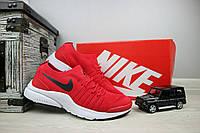 Мужские кроссовки текстильные летние красные Classica G 5043 -3, фото 1