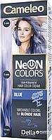 CAMELEO NEON COLORS - фарба для волосся Delia - блакитний/blue - 60 мл, фото 1
