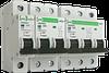 Автоматический выключатель ECO АВ2000 1Р C 10A 6кА