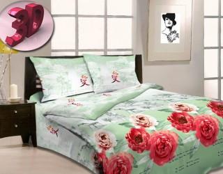 Комплект постельного белья двуспальный бязь