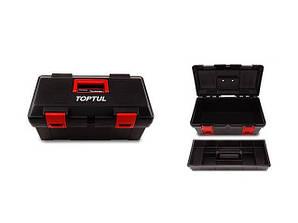 Ящик для инструмента 3 секции (пластик) 445x240x202 мм. TOPTUL