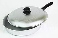Сковорода 28 см с крышкой, глубокая БC28трк