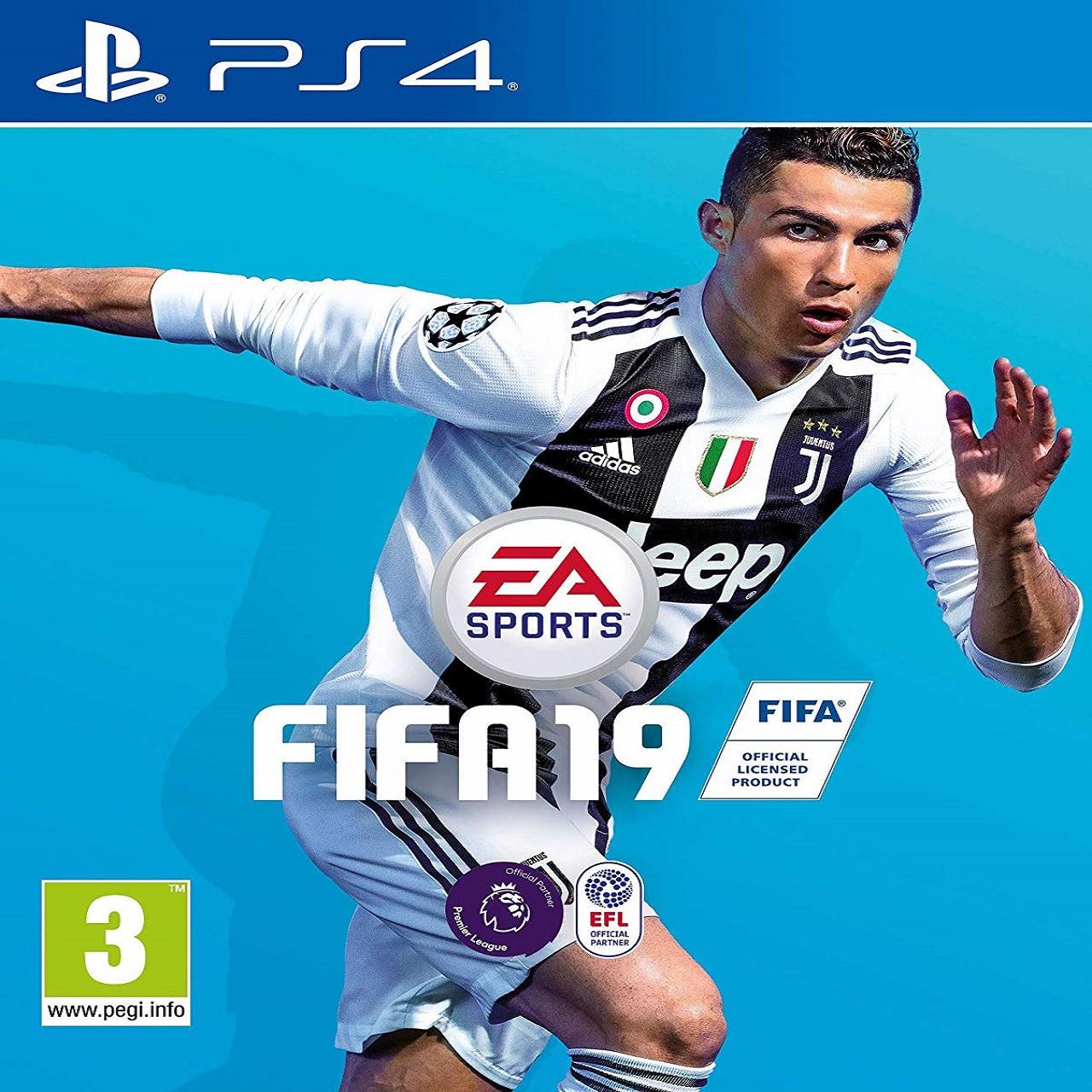 FIFA 19 RUS PS4 (NEW)