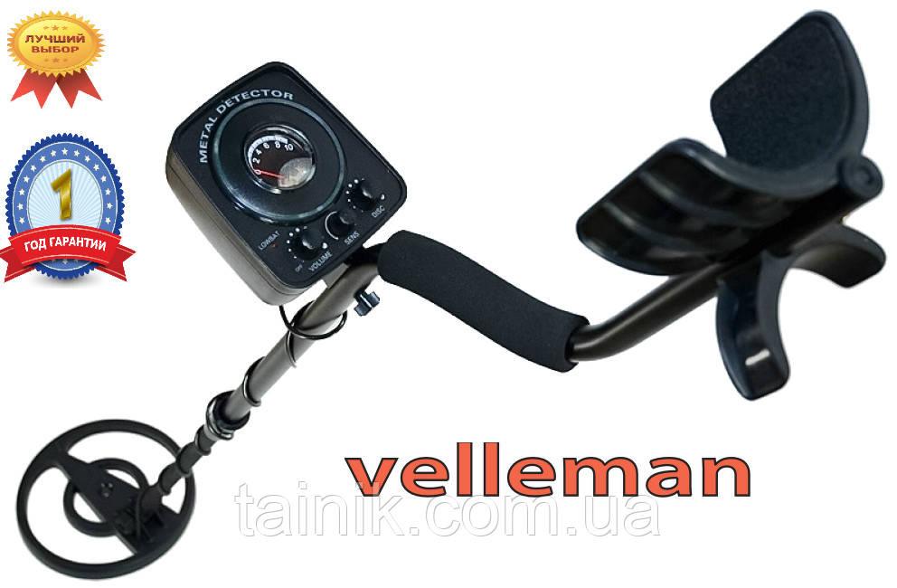 Металлоискатель Velleman 65 GC-1065 с дискриминацией до 1,8 м