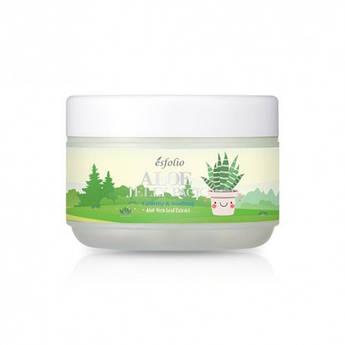 Ночная увлажняющая маска с натуральным экстрактом алоэ Esfolio Aloe Jelly Pack