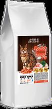 Сухий корм для дорослих котів Home Food Курочка - креветка 400 г