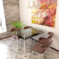 """Столы обеденные стекло """"Сакура"""", фото 1"""