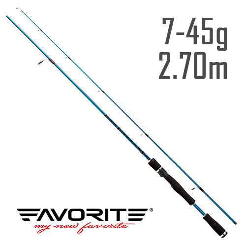 Спиннинг Favorite Laguna NEW LGS902ЕХ-Н 2.70m 7-45g Fast