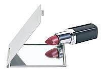 Алюминиевое карманное зеркальце