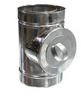 РЕВІЗІЯ з нержавіючої сталі AISI 304 з термоізоляцією в нержавіючому кожусі