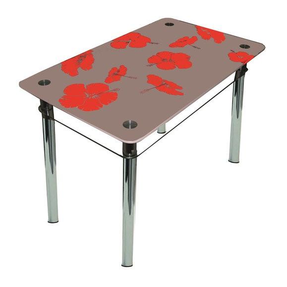 """Столы обеденные стекло """"Лилия"""""""