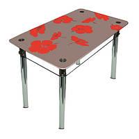 """Столы обеденные стекло """"Лилия"""", фото 1"""
