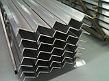 Уголок алюминиевый 25/25, толщина стенки 1,5, марка алюминия АД31, АМг5, Д16Т, АМц, фото 4
