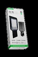 Светильник уличный светодиодный 85-265V, 36Вт 6500K, 2900LM,  IP65