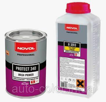 Novol PROTEKT 340 Реактивний грунт WASHPRIMER 1.0 л+1.0 л