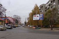 Билборды на ул. Главная и др. улицах г. Черновцы
