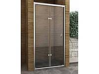 Перегородка для душа (складные двери) BI-FOLD (900х1900)