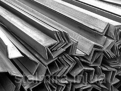 Уголок алюминиевый 40/40, толщина стенки 4, марка алюминия АД31, АМг5, Д16Т, АМц