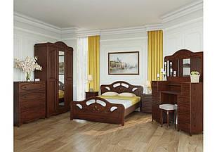 Спальня з натурального дерева Стелла Скіф