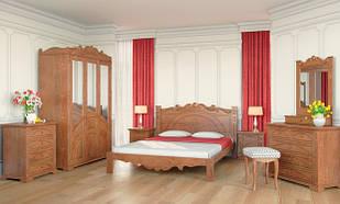 Спальня з натурального дерева Атена Скіф
