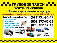 Грузовое такси Житомир