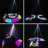 Лазерный проектор 3D с пультом ДУ для дискотек DMX512.TDM-RGB400, фото 4