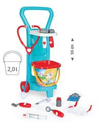 Детский игровой набор с тележкой Маленький доктор Wader (10775)