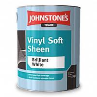 Водоэмульсионная матовая краска Johnstones Vinil Soft Sheen 2,5 л