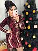 Праздничное платье с ярким дизайном.  Размер: М -42 , Л-44. Разные цвета (0410), фото 9