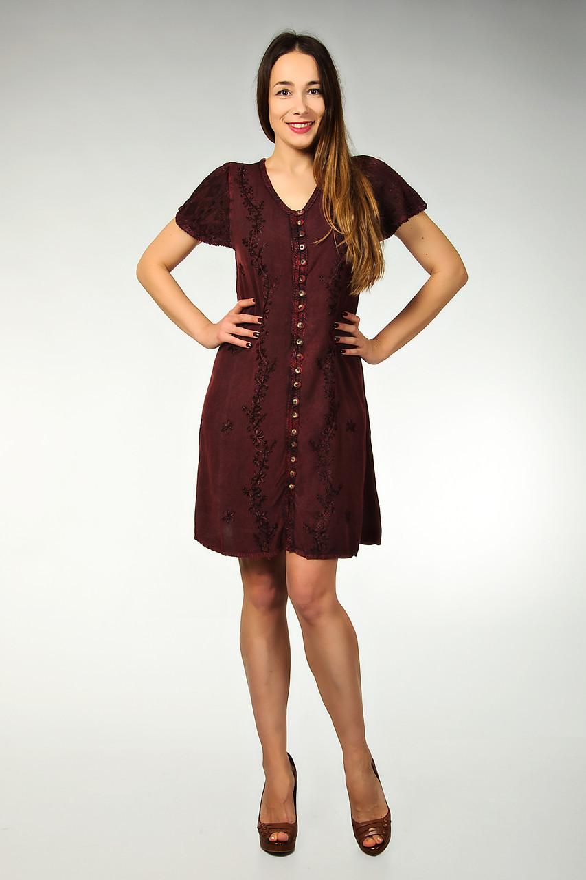 2d3a6e5dd1b84cc Купить Платье-халат, бордовое, Индию, на 48-52 размер оптом и в ...