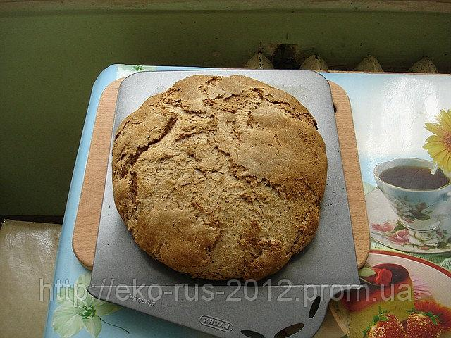Подовый хлеб с применением небольшого количества белой муки